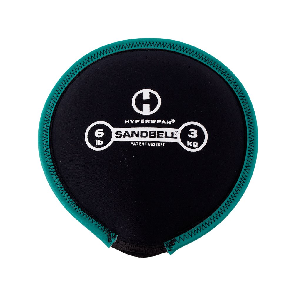Hyperwear SandBell Sandbag Training Free Weight (Pre-Filled) (6)