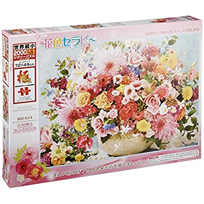Sweet Pink 2000 Piece Heart World Smallest Moistened S62 514 Japan Import