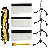 Accessori di ricambio per ILIFE A4 Robot Aspirapolvere Filtro HEPA Spazzole laterali spazzole principali