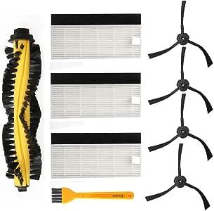 Accesorios de recambio para aspirador de robot ILIFE A4 Filtro HEPA Cepillos laterales de cepillo principal: Amazon.es: Hogar