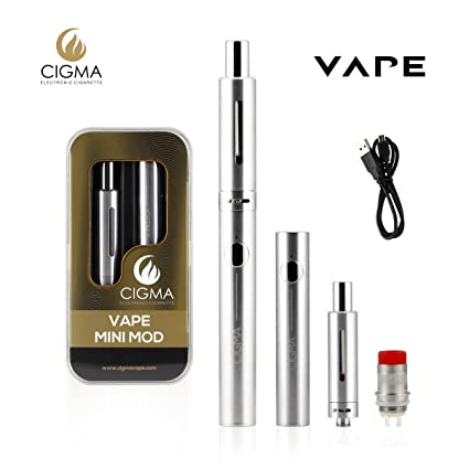 CIGMA Mini Mod 30W 0.6 Ohm Sub ohm Kit de vapeo| Batería recargable de cigarrillo