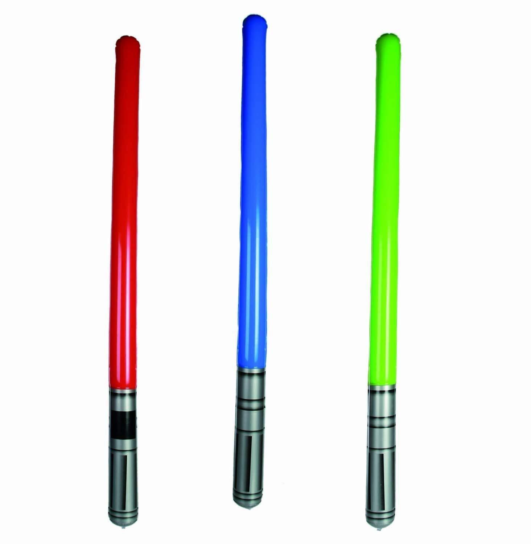 Hinchable LightSabre Adhesivas Espada láser Accesorio Estrella ...