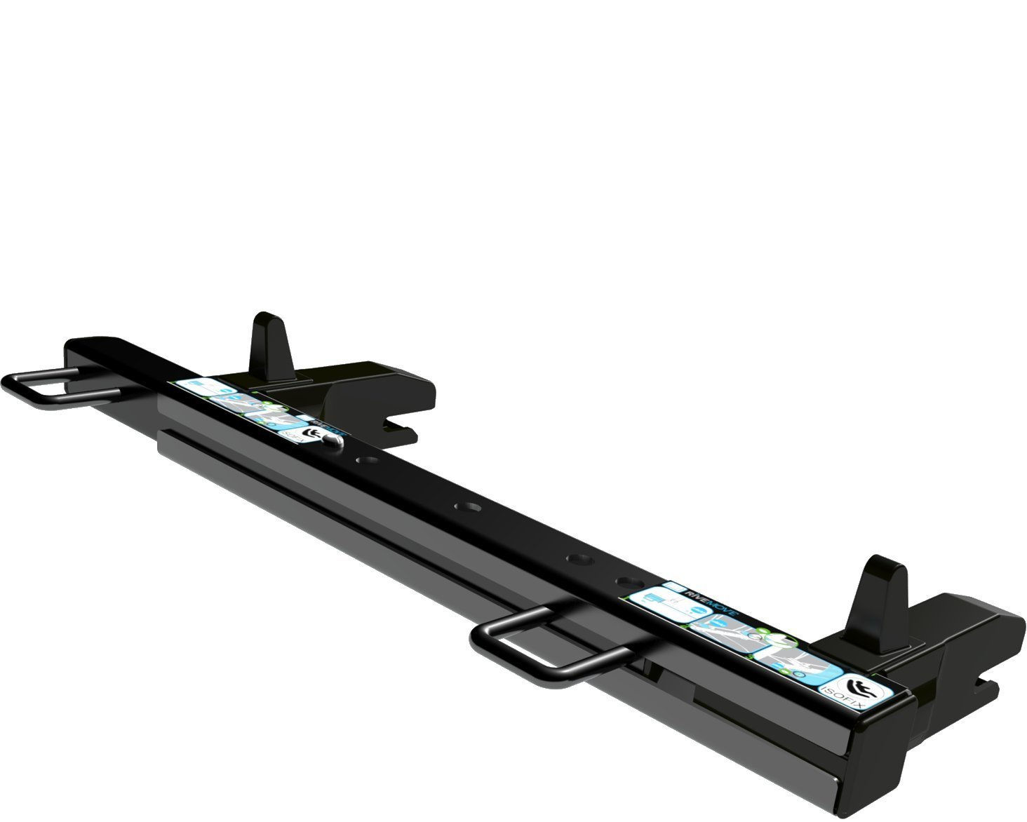 RiveMove Isofix-Verankerung Pack mit 1 St/ück Zubeh/ör f/ür Kinderautositz Ein Plus an Sicherheit und Raum