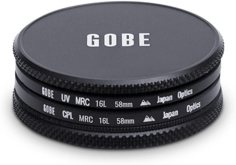 2Peak CPL Gobe 62 mm UV Filter - Filter Kit Polfilter