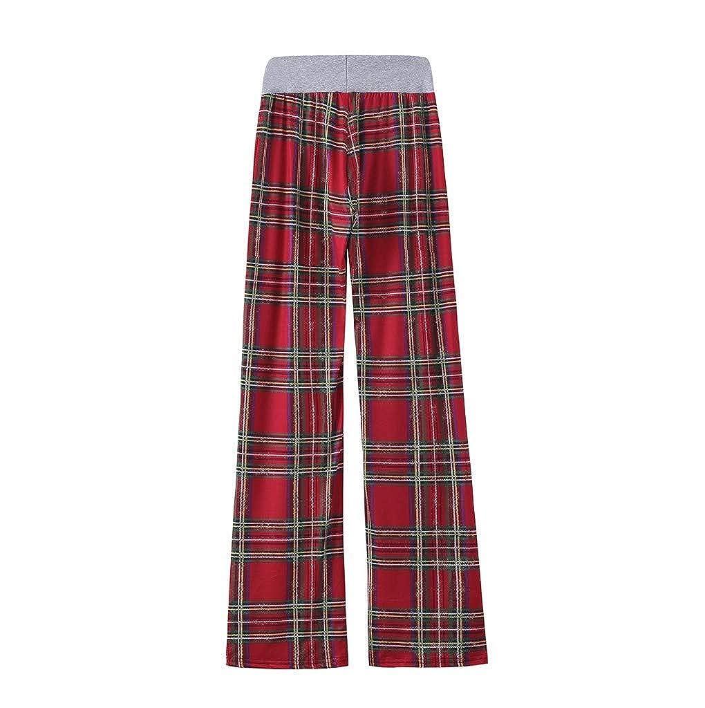 Beauty Womens Pajama Pants Comfy Stretch Leopard Print Drawstring Wide Leg Lounge Pants Sport Pants 2020