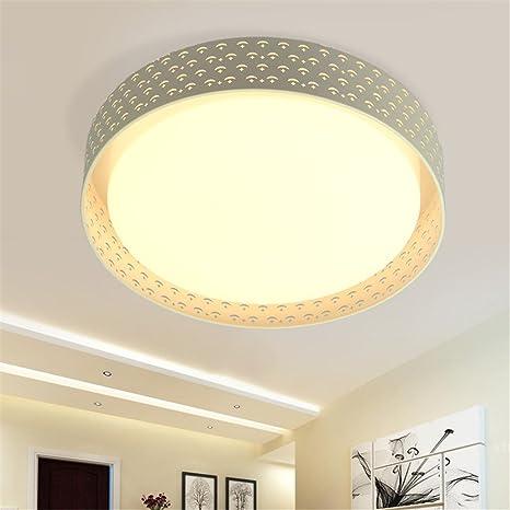 BRIGHTLLT Moonlight LED redonda simple moderna lámpara de ...
