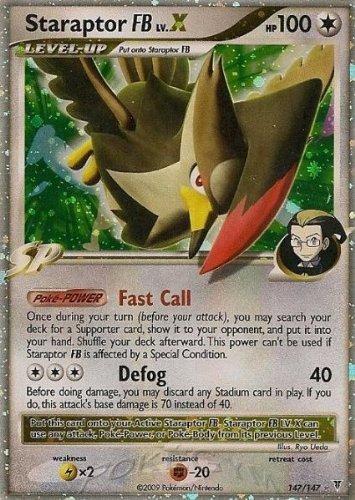 Pokemon Platinum Supreme Victors Single Card Staraptor FB Lv. X #147 Ultra Ra... (Best Pokemon Lv X Cards)