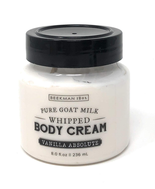 Beekman 1802 Pure Goat Milk Whipped Body Cream 8.0 fl oz. (Vanilla Absolute)
