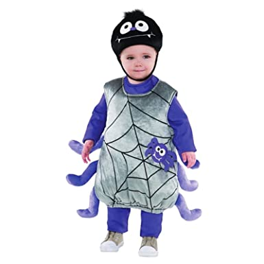 807405dff Amscan Itsy Bitsy Spider Baby Toddler Fancy Dress Costume Halloween ...