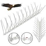 Yahee 10 x 5 M Taubenspikes Edelstahl Taubenabwehr Vogelschutz Vogelabwehr Vogelschreck