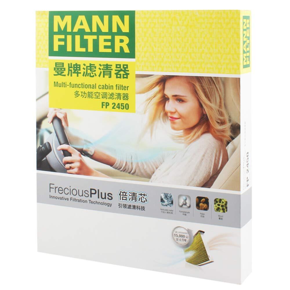 8K0 819 439 8K0 819 439 B MANN FP 2450 FreciousPlus Cabin Air Filter for A4 A5 Q5 Macan OEM 8K0 819 439
