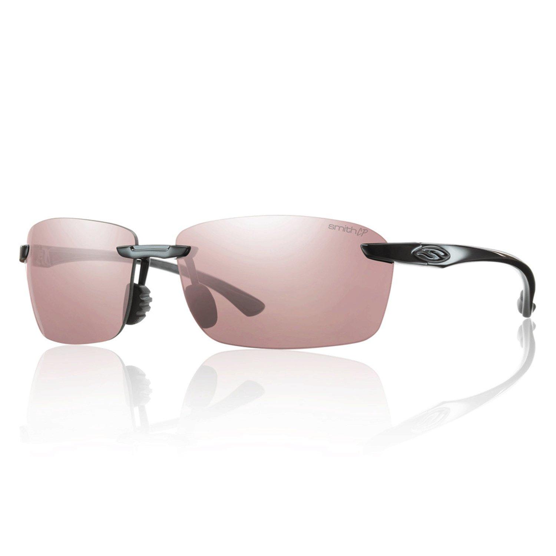 cea47c327b Amazon.com  Smith Optics Trailblazer Premium Polarized Active Sunglasses -  Black  Sports   Outdoors