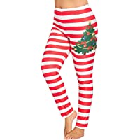 Women Christmas Snowman Printed Sports Gym Yoga Pants Mingfa Fitness Running Leggings Stretch Athletic Workout Trouser