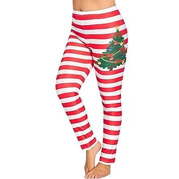 Amazon.com: Franterd - Pantalones de yoga para mujer con ...