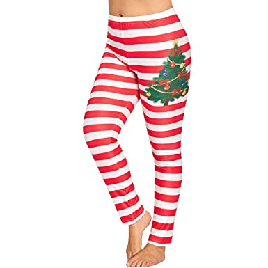 d9b4810077b25 Women Christmas Snowman Printed Sports Gym Yoga Pants Mingfa Fitness Running  Leggings Stretch Athletic Workout Trouser: Amazon.co.uk: Clothing
