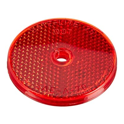 Grote 41012 Red Sealed Center-Mount Reflector: Automotive