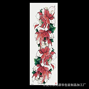 Pegatinas de tatuaje de brazo completo angel eye rose flower ...