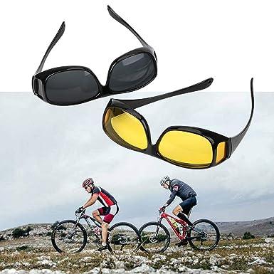 2be8862c6c8 Amazon.com  2019 Polar-Tech Night Vision HD Driving Glasses (Black ...