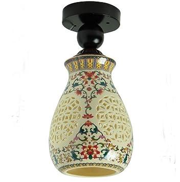 LFFLAMP Durable Lámparas de Techo, Estilo Chino Iluminación ...