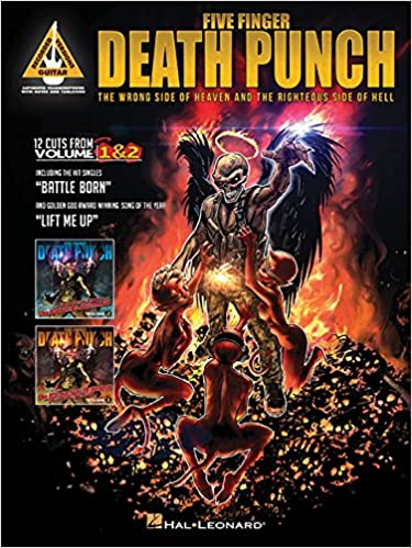 Amazon Com Five Finger Punch The Wrong Side Of Heaven And The Righteous Side Of Hell Guitar Recorded Versions  Five Finger