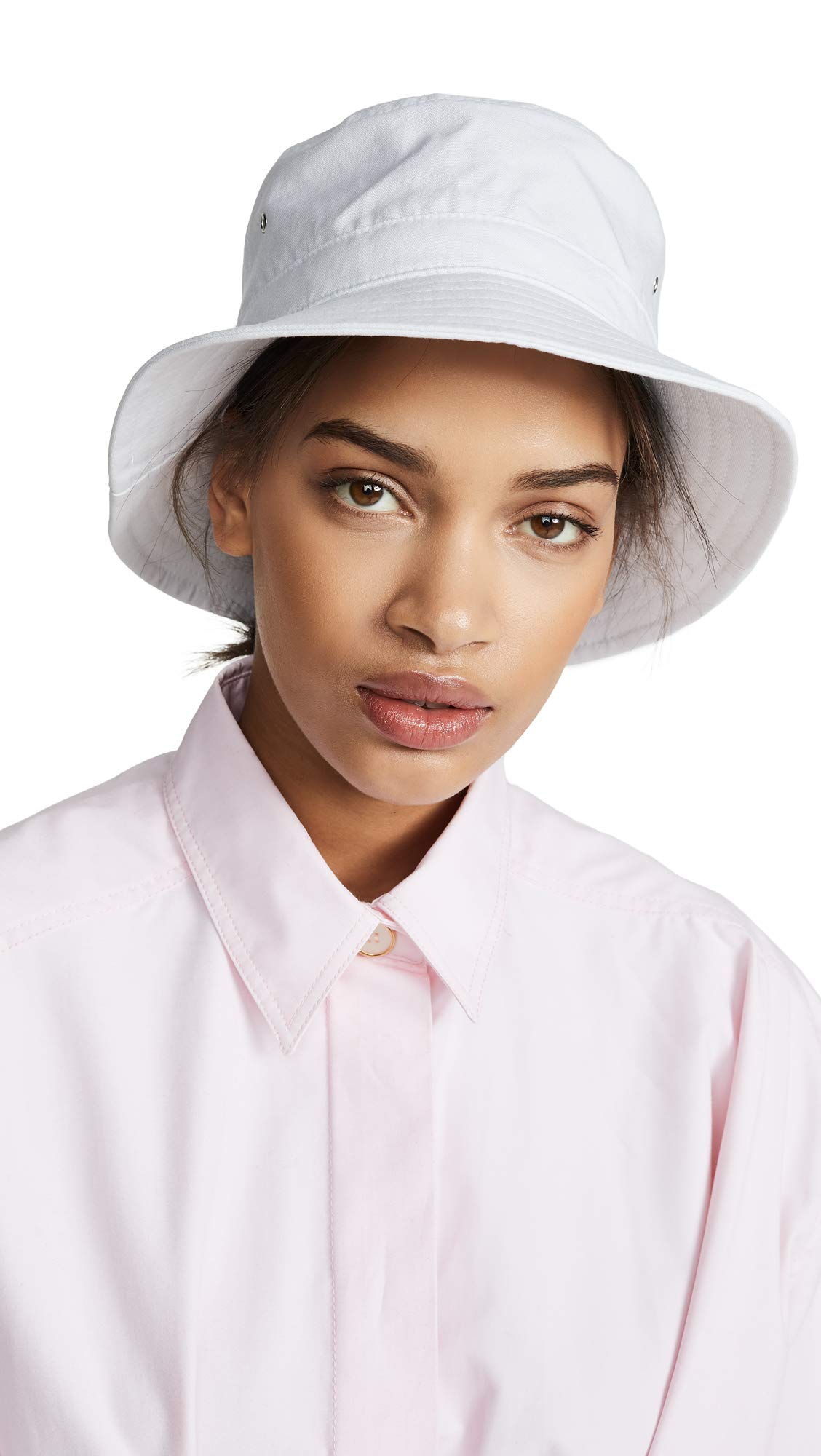 Hat Attack Women's Perfect Bucket Hat, White, One Size by Hat Attack (Image #1)
