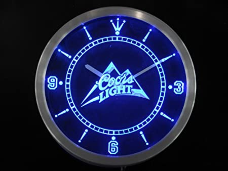 LED Neon Light Wall Clock 1 BEER Bar Cafe Pub Restaurant by WorldLEDHouse