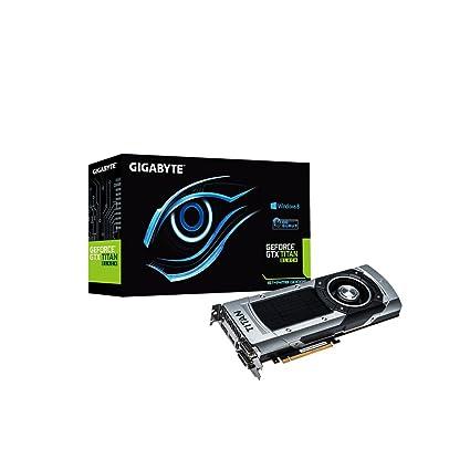 Gigabyte GeForce GTX Titan - Tarjeta gráfica de 6 GB (GeForce GTX Titan, 4096 x 2160, DDR5 SDRAM, HDMI)