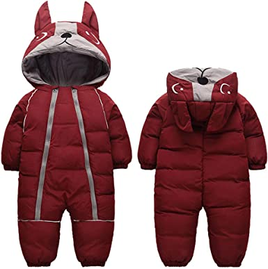 Unisex Baby Warm Outerwear Windproof Coat 0-4T