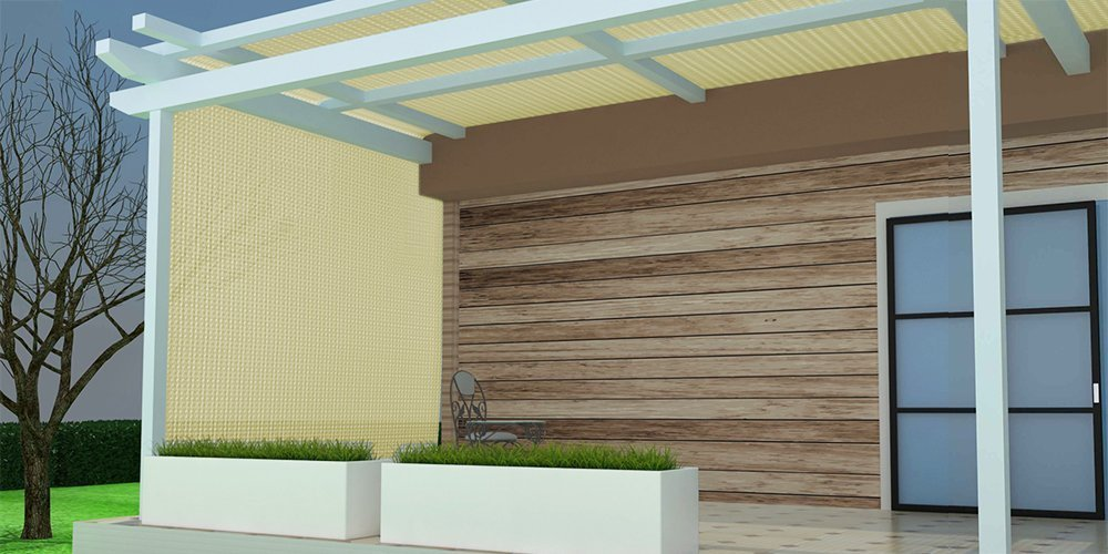Sun-Block Net Mesh Shade with Clips for Pergola Cover Porch Vertical Screen 8x16ft Beige Shatex 90/% Sun Shade Fabric