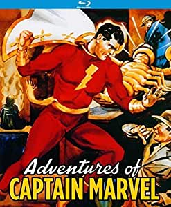 Adventures of Captain Marvel (12 Chapter Serial) [Blu-ray]
