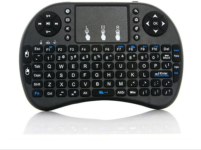 qzt Mini i8 Teclado WiFi USB inalámbrico Ratón Touchpad PC Smart TV 2.4 GHz Android Tablet: Amazon.es: Electrónica