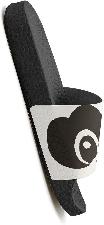 Dancing Panda Mens Shower Athletic Slides Sandal Slippers Flip Flops