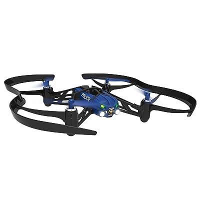 Parrot Airborne Night Mini Drone - Maclane Blue (Renewed): Toys & Games