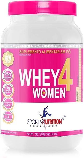 Whey 4 Women 900g – Sports Nutrition(Baunilha)