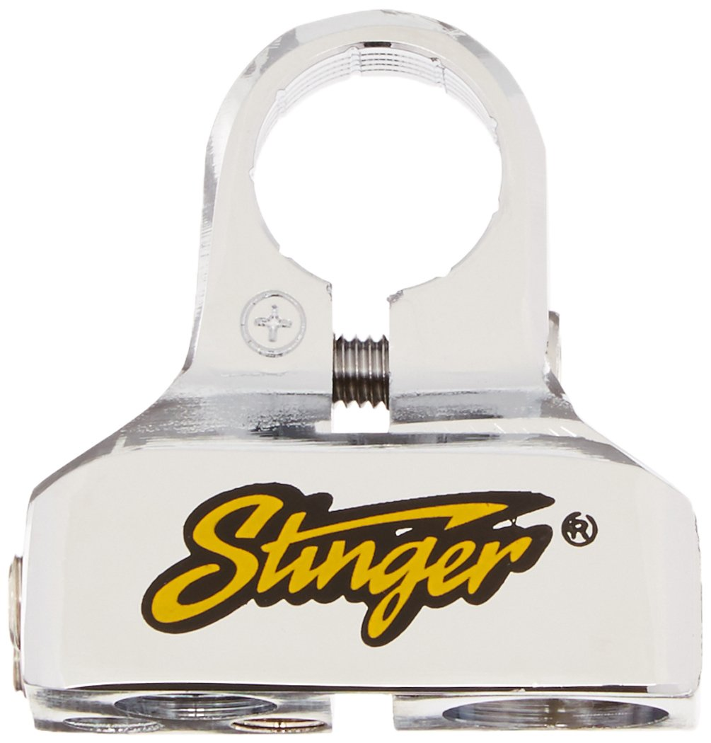 Stinger SPT53102 Pro Classic Battery Terminal with 8 Outputs Shoc-Krome