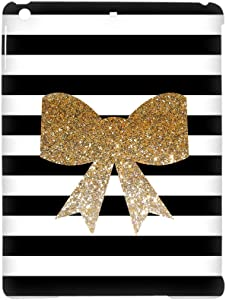 Tyboo For 5Th Ipad Apple Air 1St Rigid Plastic Phone Case Abstract Boy Printing Bow Bowknot