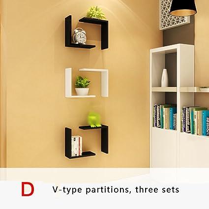 Amazoncom Shelf Baffle Wall Simple Modern Paint Hanging