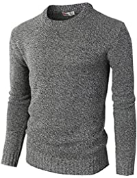 Mens Casual Slim Fit Pullover Sweaters Knitted Long Sleeve Basic Designed