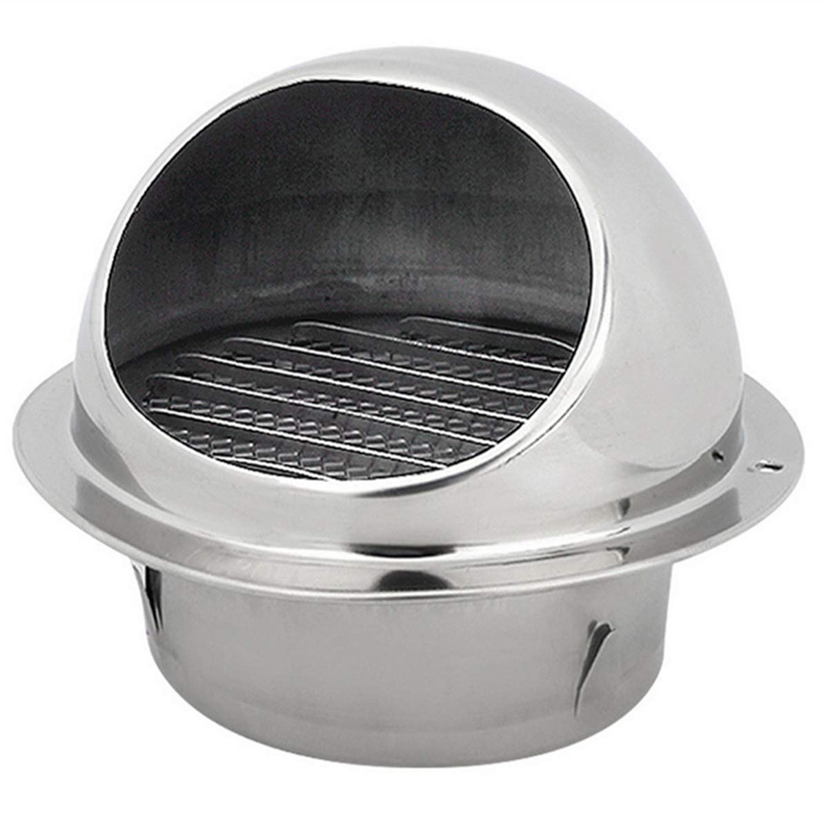 MIAO YUAN 1Pack Stainless Steel Air Vent Round Vent, Mesh Cover External  Extractor Wall Vent, Stainless Steel Exhaust Hood for Bathroom Office  Kitchen ...