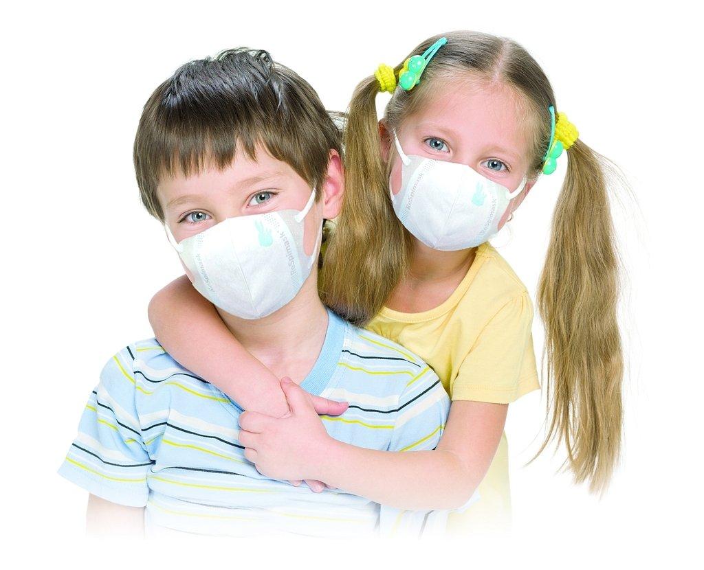 mask virus child