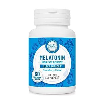 Amazon.com: Natures Instincts Melatonina 10 mg Disolver ...