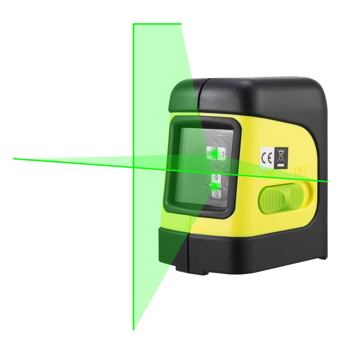 Firecore F112G Green beam Horizontal/Vertical and Cross line laser level