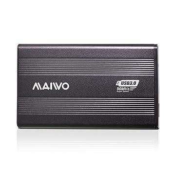 Amazon.com: Maiwo Usb 3.0 disco duro externo carcasa de ...