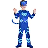 amscan PJMASQUES Costume Pj Mask Cat Boy (2-3 Anni),, 24 Mesi, 7AM9902951