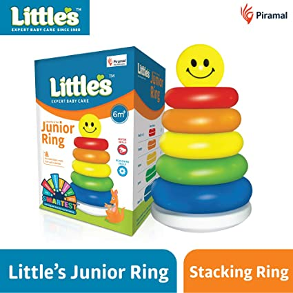 2e549a51b8b Buy Little s Junior Ring (Multicolour) Online at Low Prices in India -  Amazon.in