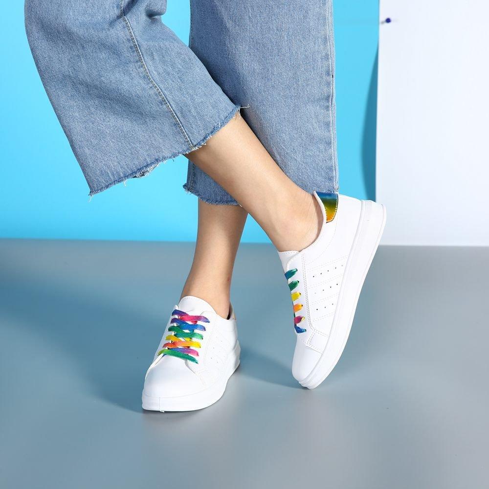 NGRDX&G Zapatillas Blancas Vulcanizadas De Señora Zapatos Casuales De Algodón Zapatos Planos Bajos De Mujer Zapatos Deportivos: Amazon.es: Deportes y aire ...
