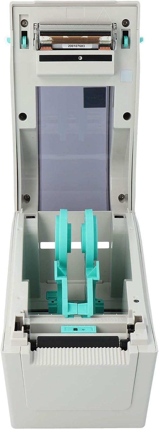 USB Schnittstellen 54 mm max Druckbreite LAN seriell Thermodirekt 203 dpi TSC TDP-225 Drucker mit Abrei/ßkante