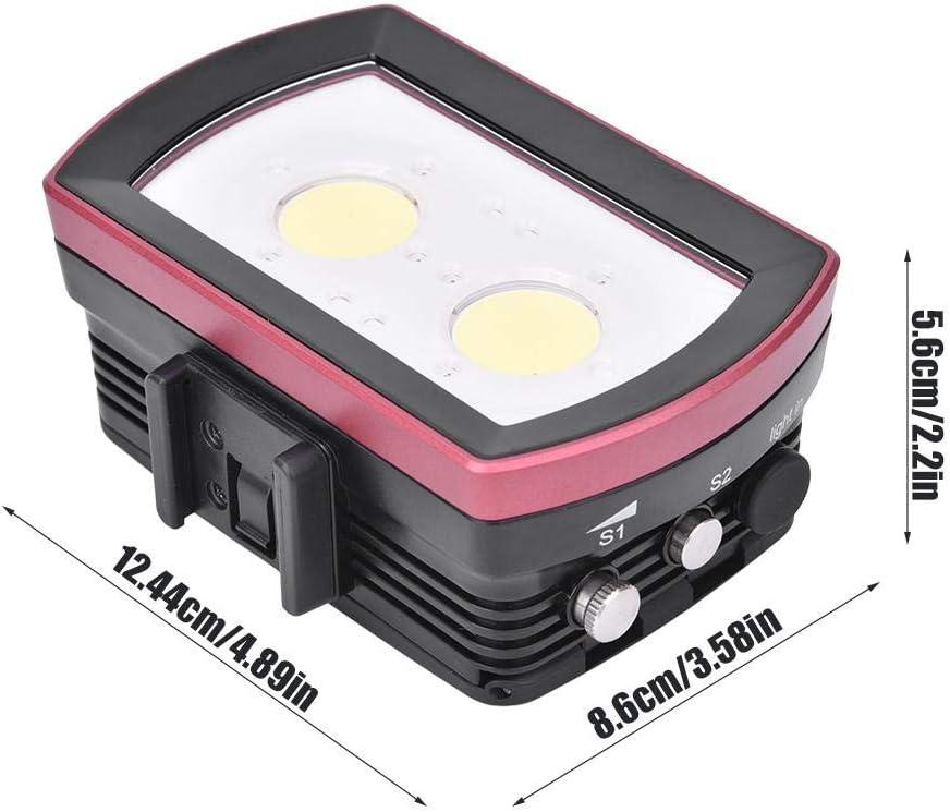 Battery Charger US AC100-240V. SL-21 40m//130ft LED Diving Fill Light 7000-7500K Vbestlife Underwater Diving Flash Light