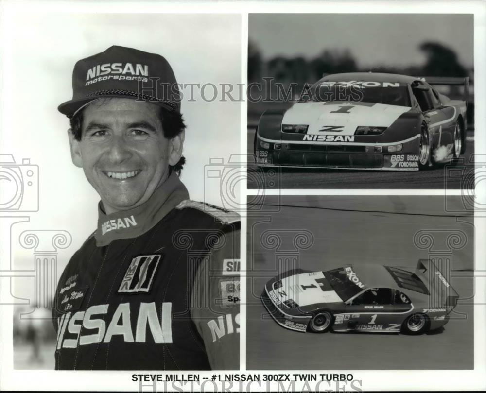 Amazon.com: Vintage Photos Press Photo Steve Millen, Nissan 300ZX Twin Turbo, Auto Racing - orc04067: Photographs