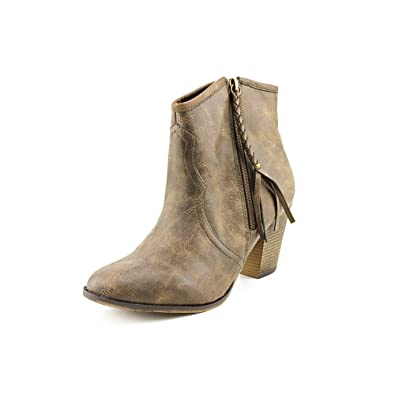 e43c98a6501 Image Unavailable. Image not available for. Color  American Rag Allye  Womens Size 8.5 Brown Faux Leather Western Boots